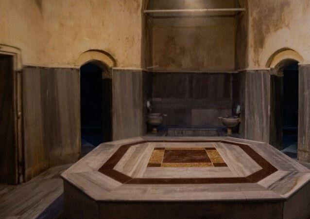 Kanuni Sultan Süleyman döneminden kalan tarihi Horhor Hamamı