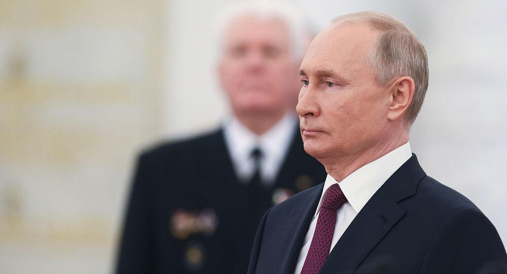 RusyaDevlet Başkanı VladimirPutin
