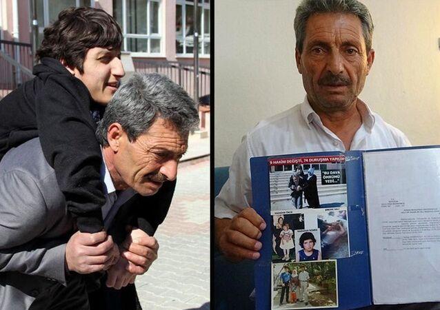 Çarpan otomobil nedeniyle engelli kalan kızının davası 20 yıl sonra sonuçlandı: 210 lira maddi, bin lira manevi tazminat