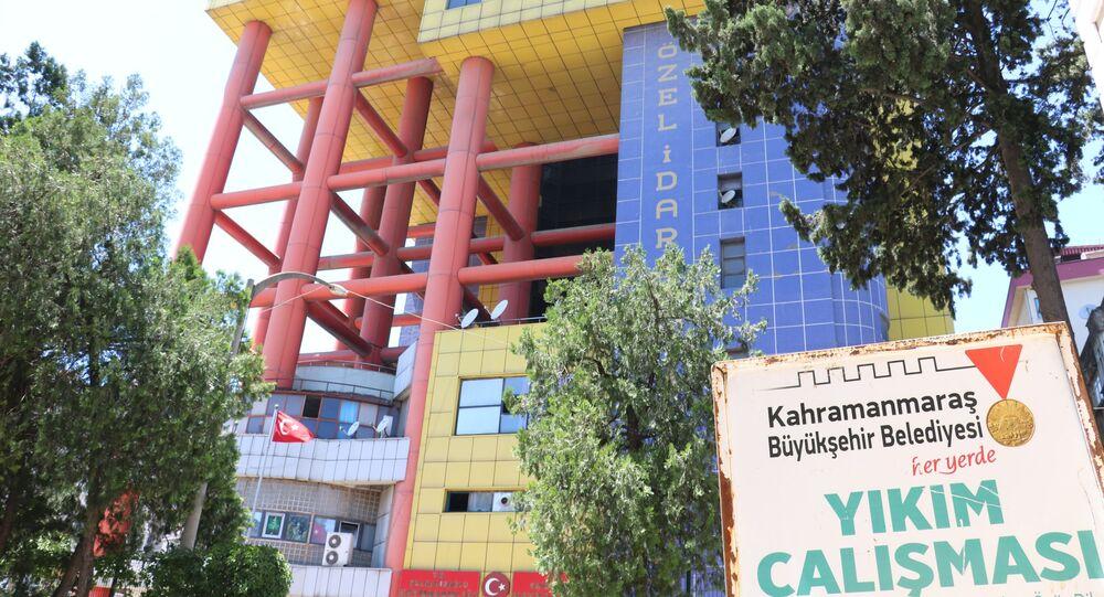 Kahramanmaraş dünyanın en saçma binası