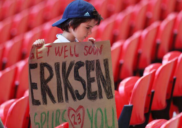 Christian Eriksen'e destek mesajları