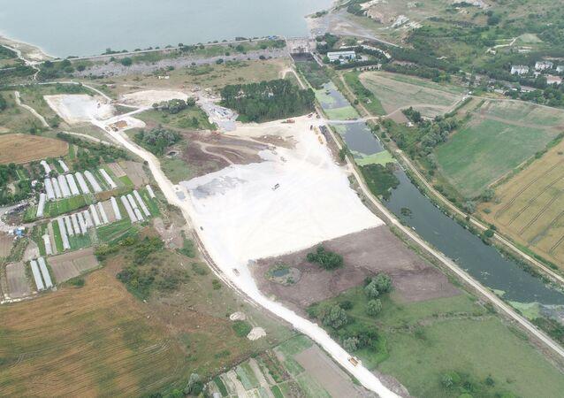 Kanal İstanbul'da ilk köprünün temelinin atılacağı yer