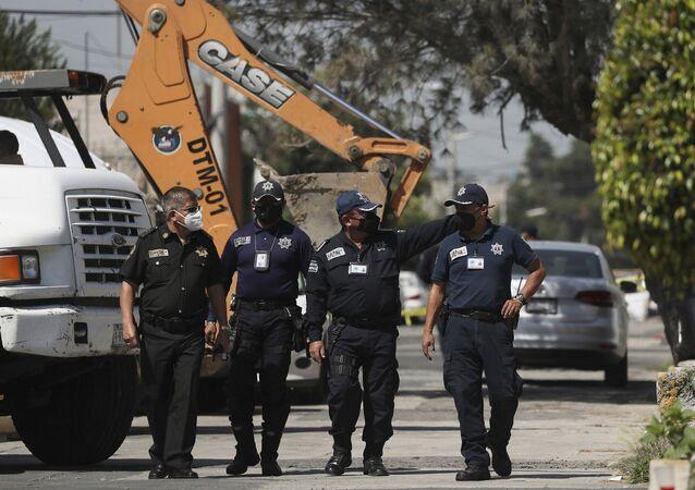 Meksika'daki seri katilin evinin yanında