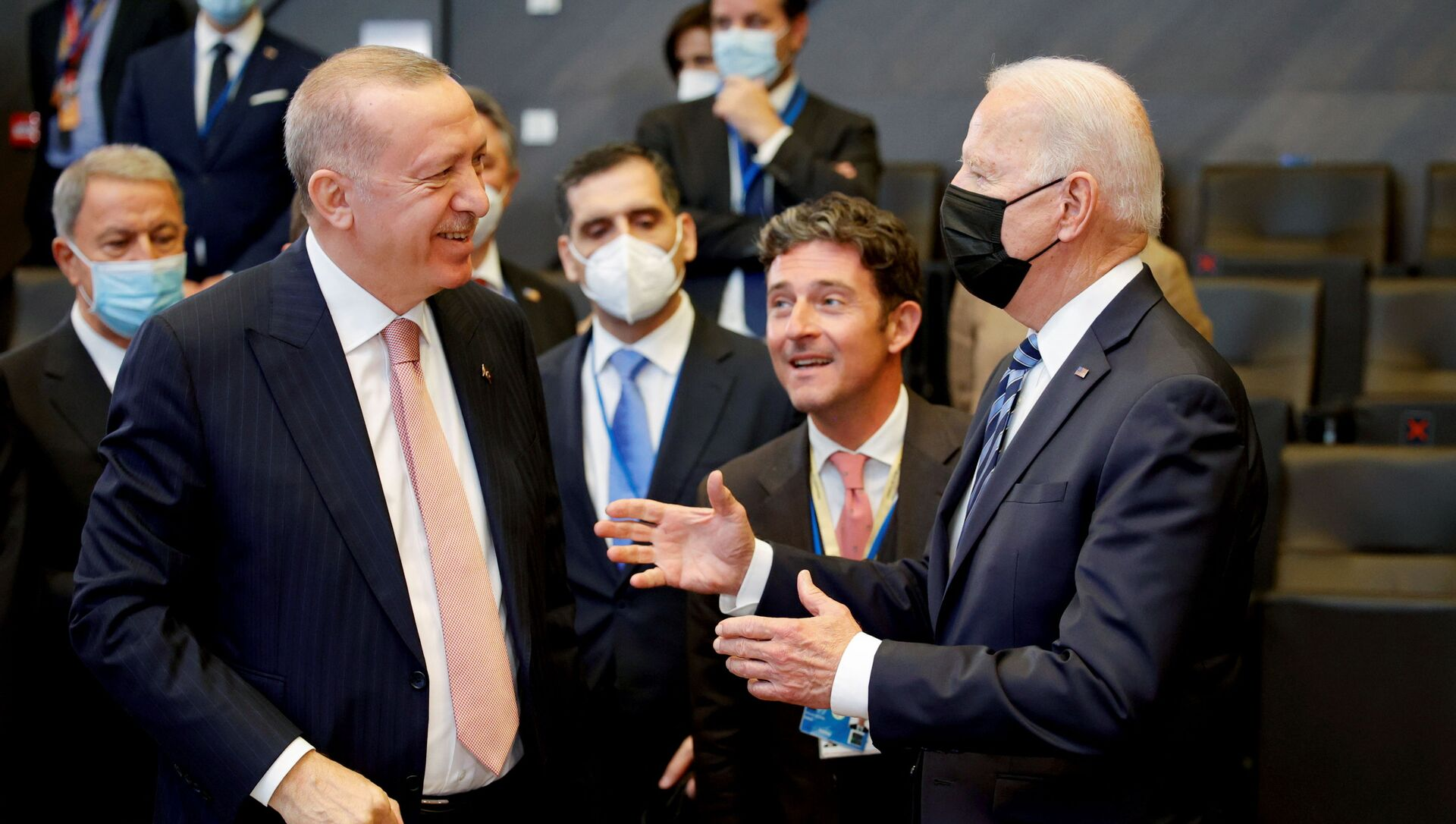 Recep Tayyip Erdoğan - Joe Biden - Sputnik Türkiye, 1920, 14.06.2021
