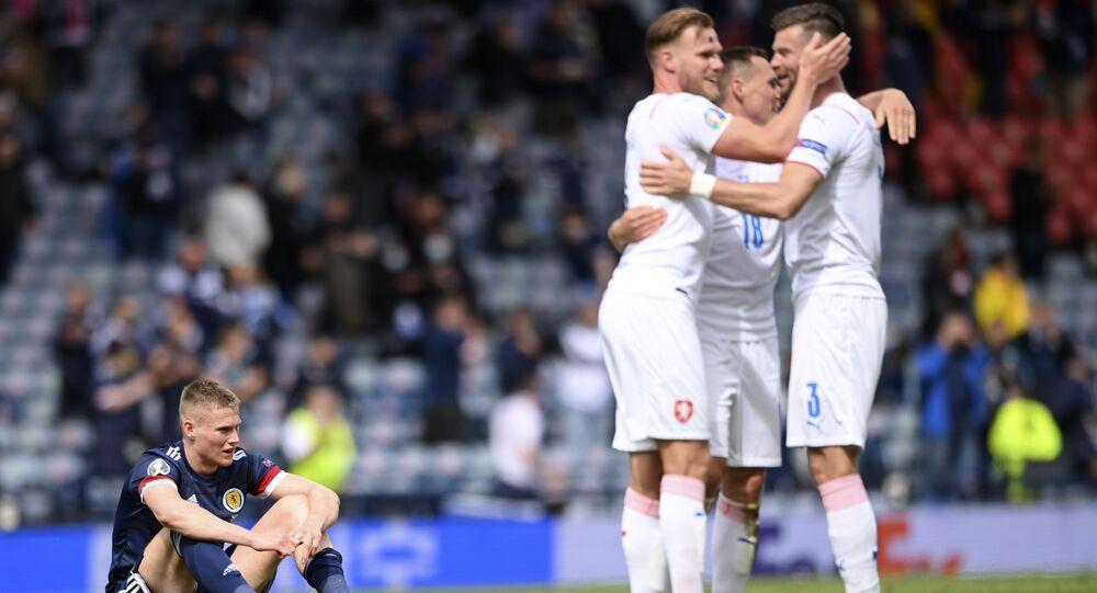 EURO 2020 D Grubu maçında Çekya, İskoçya'yı 2-0 mağlup etti