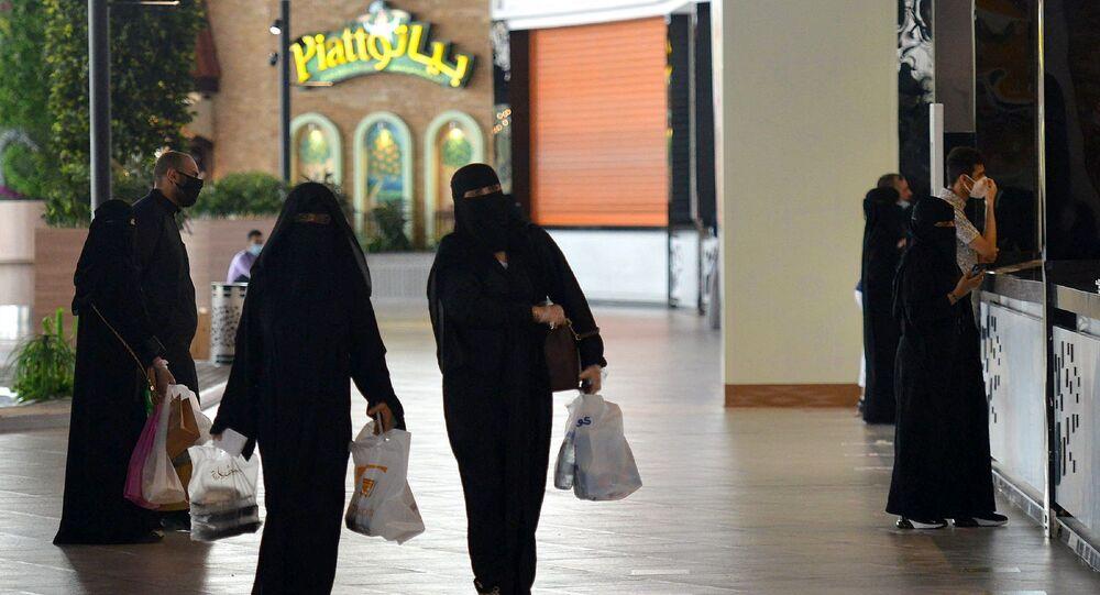 Suudi Arabistan - kadın - alışveriş