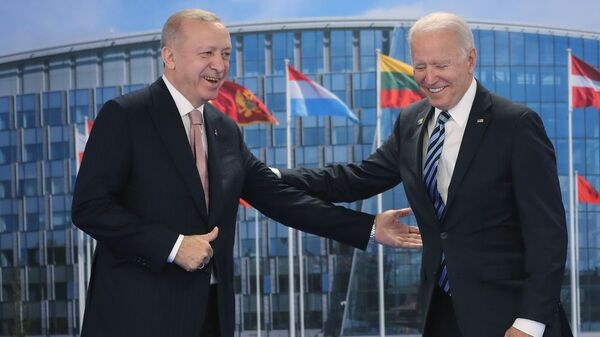 Erdoğan-Biden - Sputnik Türkiye