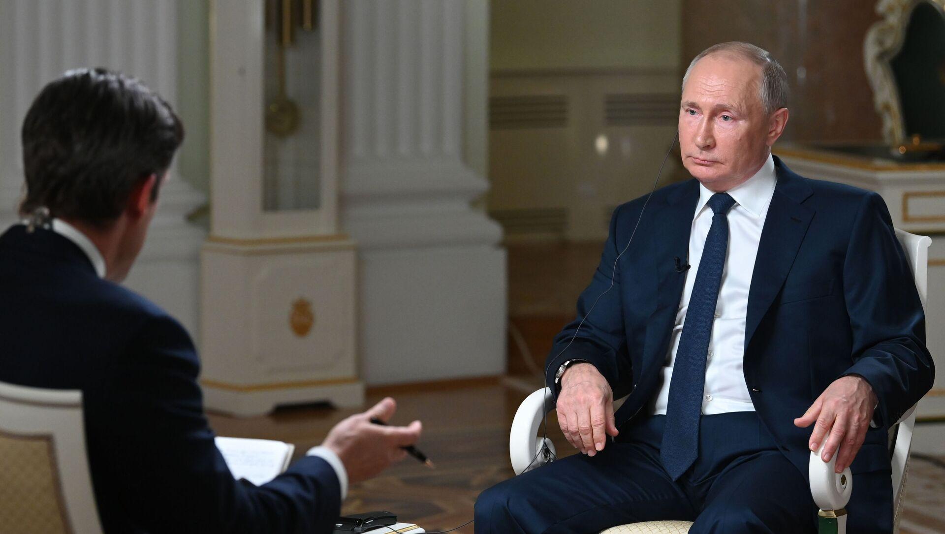 Putin NBC Röportajı - Sputnik Türkiye, 1920, 14.06.2021