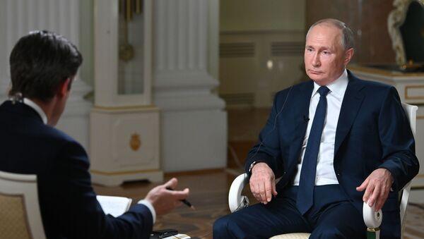 Putin NBC Röportajı - Sputnik Türkiye