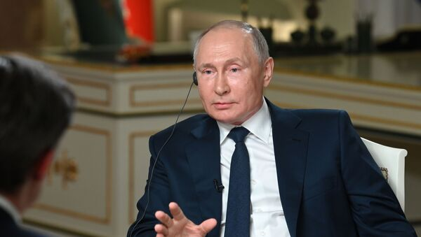 Putin NBC Röportaj - Sputnik Türkiye