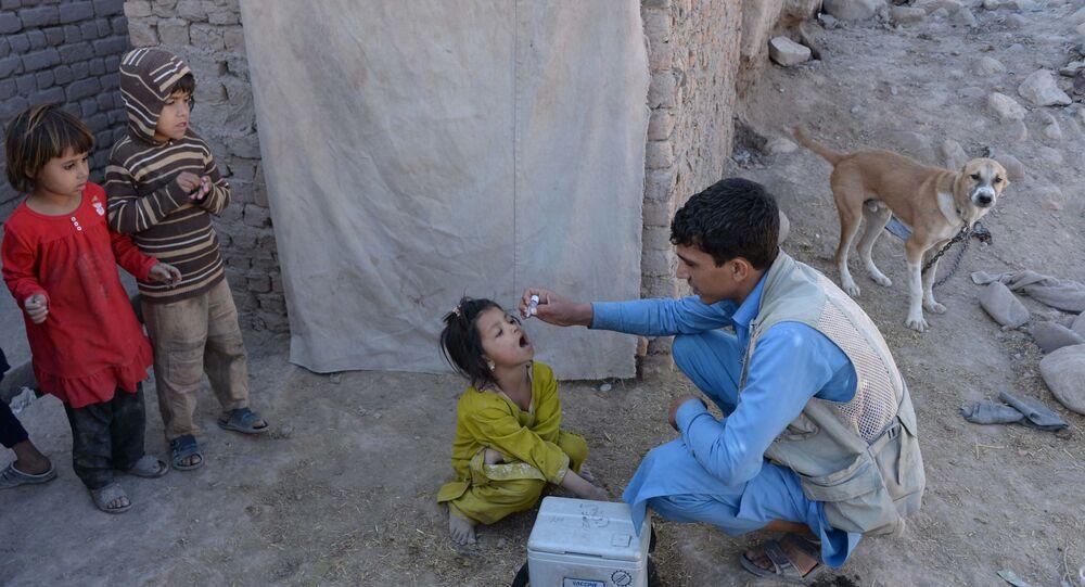Afganistan- Çocuk felci aşısı