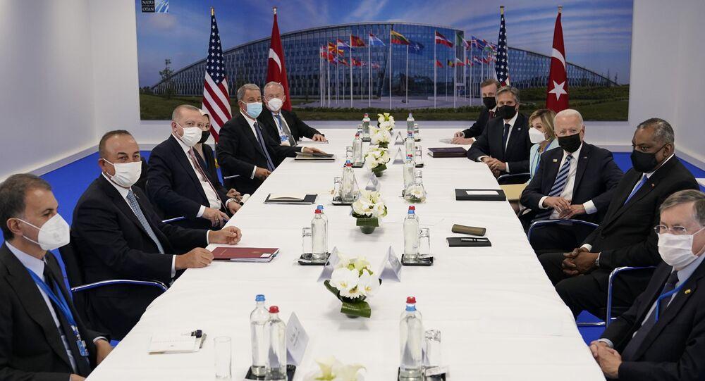 ABD Başkanı Joe Biden- Cumhurbaşkanı Recep Tayyip Erdoğan görüşmesi