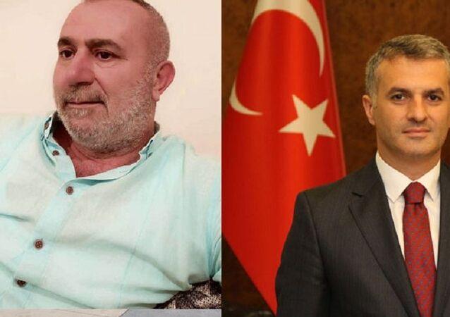 Azmmettiricinin babası Ayhan Kılıç-Yomra Belediye Başkanı Mustafa Bıyık