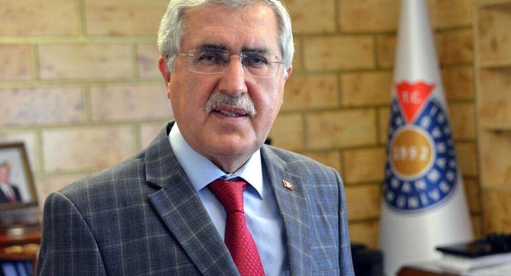 Kahramanmaraş Sütçü İmam Üniversitesi (KSÜ) Rektörü Prof. Dr. Niyazi Can