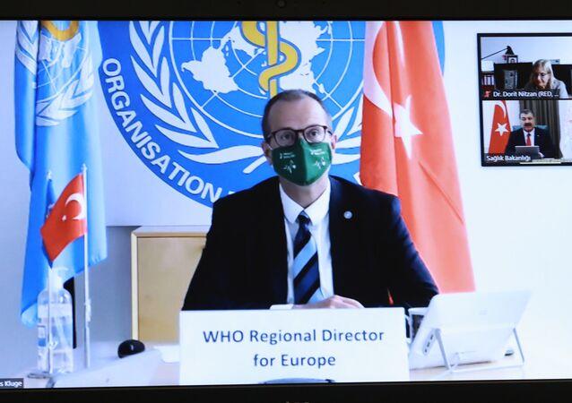 Dünya Sağlık Örgütü (DSÖ) Avrupa Direktörü Hans Kluge