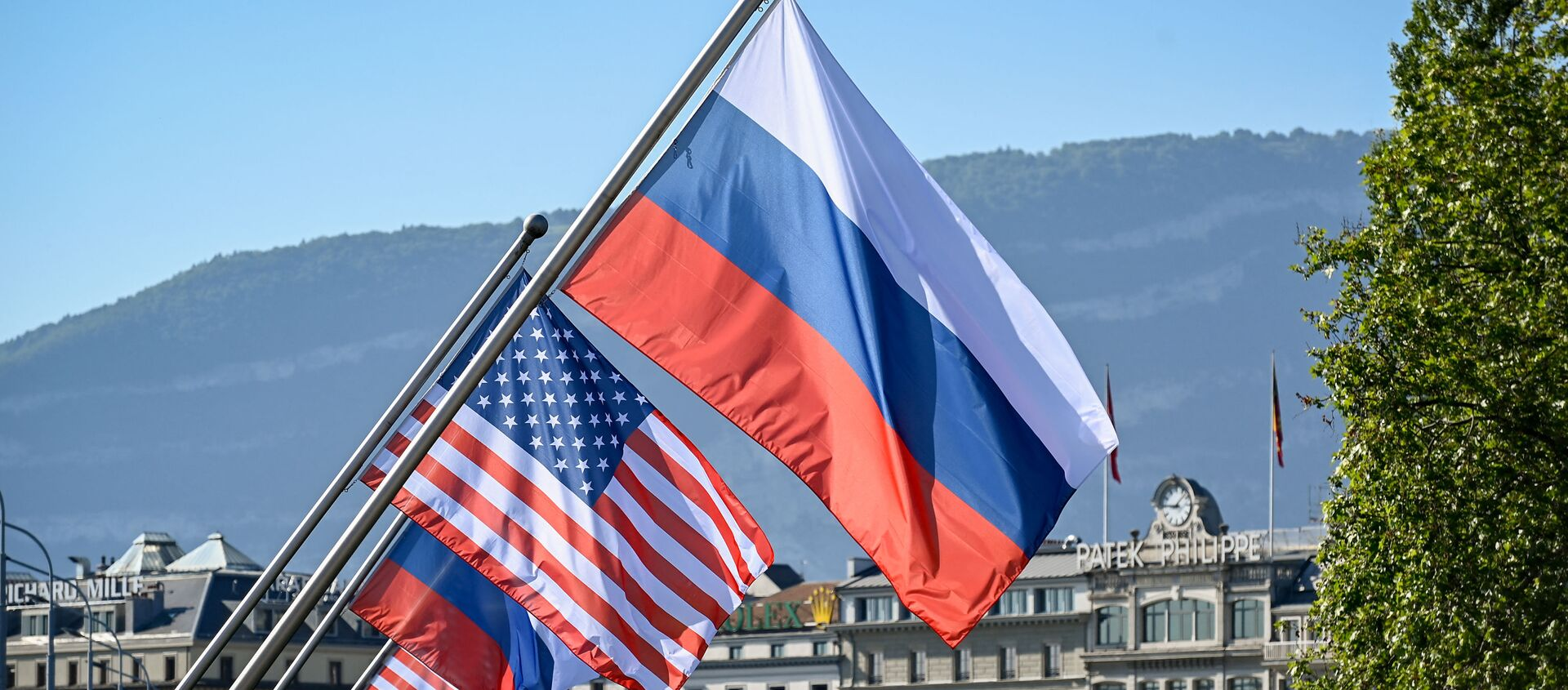 Rusya- ABD bayrakları - Sputnik Türkiye, 1920, 21.07.2021