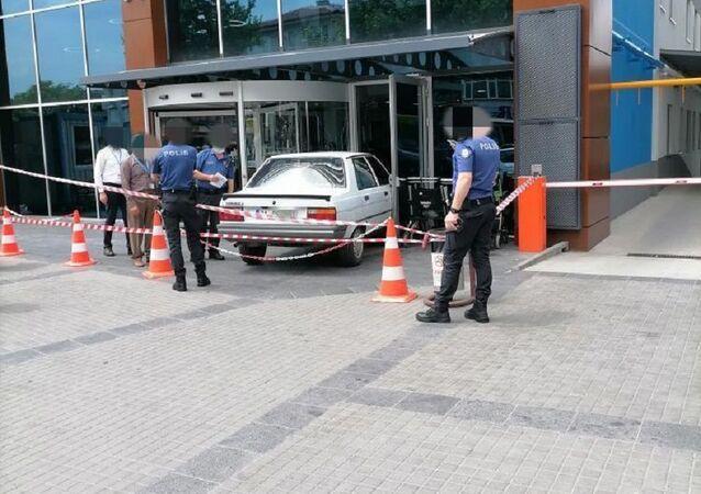 Ankara, otomobiliyle hastaneye giren Hacı K.