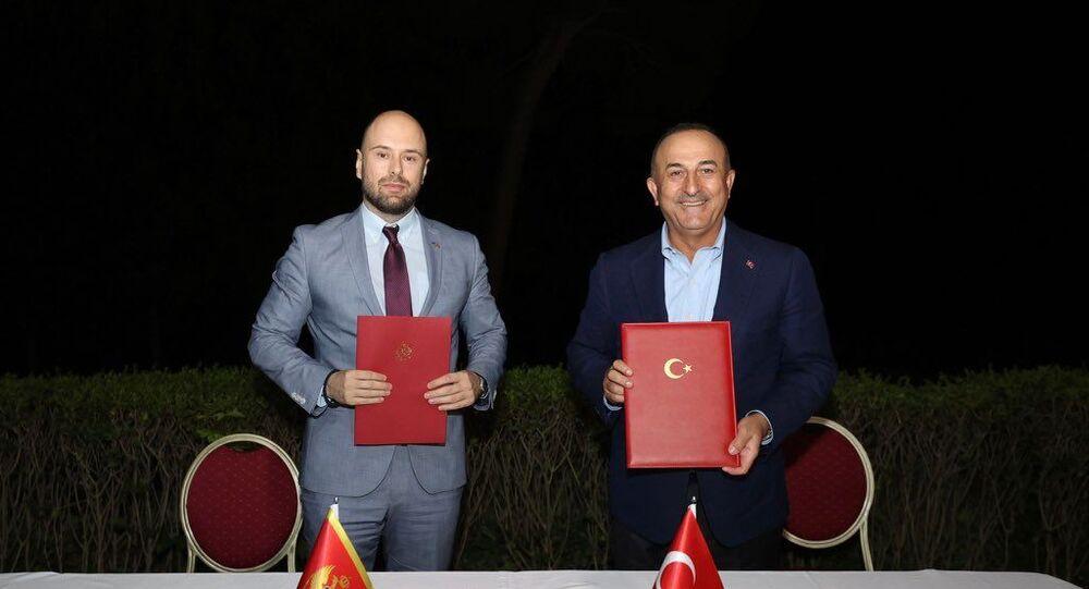 Dışişleri Bakanı Çavuşoğlu, Arnavutluk, Karadağ ve Bosna Hersek Dışişleri Bakanlarıyla görüştü