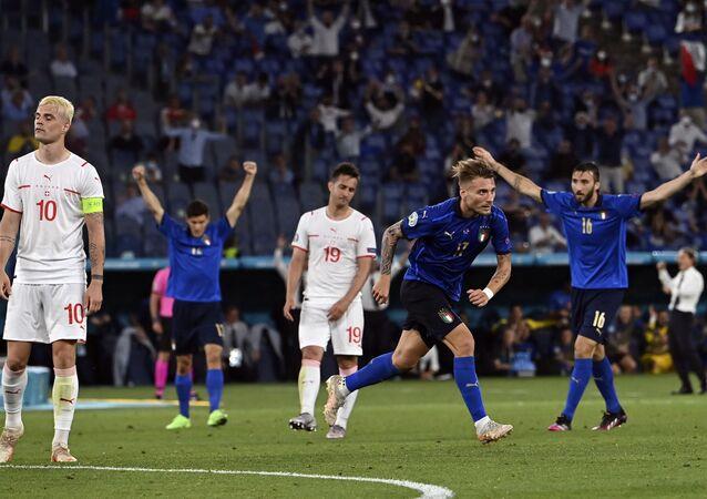EURO 2020 A Grubu maçında İtalya, İsviçre'yi 3-0'la geçti