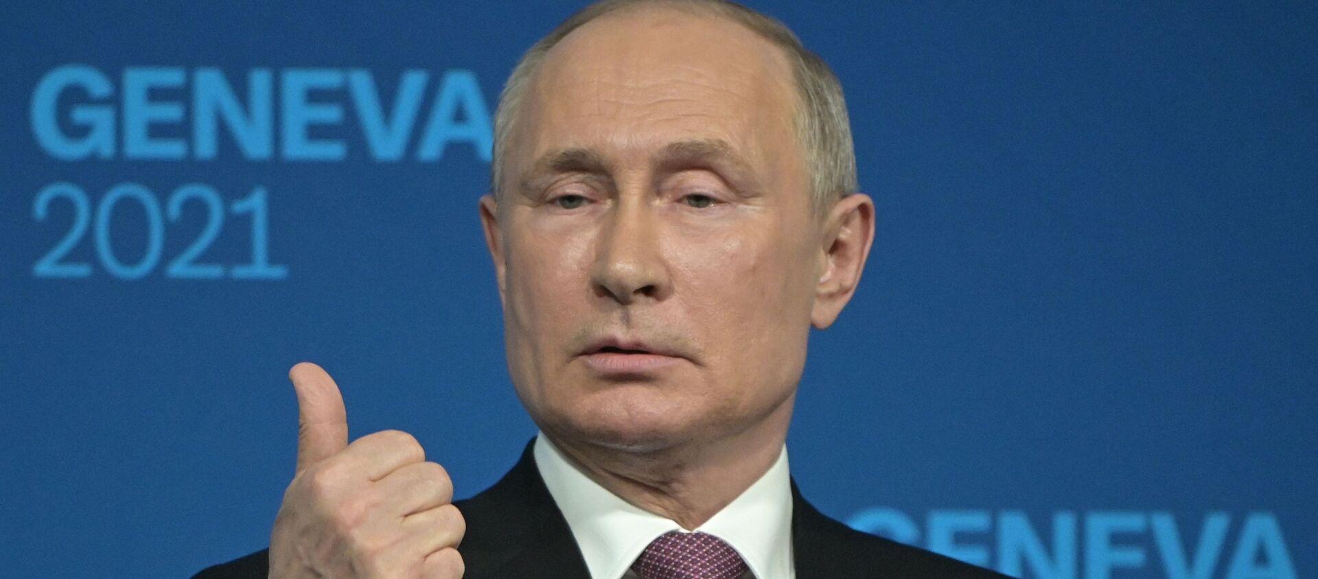 Rusya Devlet Başkanı Vladimir Putin - Cenevre - Sputnik Türkiye, 1920, 17.06.2021