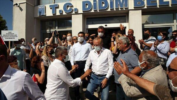 Didim Belediye Başkanı Deniz Atabay, saldırı, mahkeme - Sputnik Türkiye