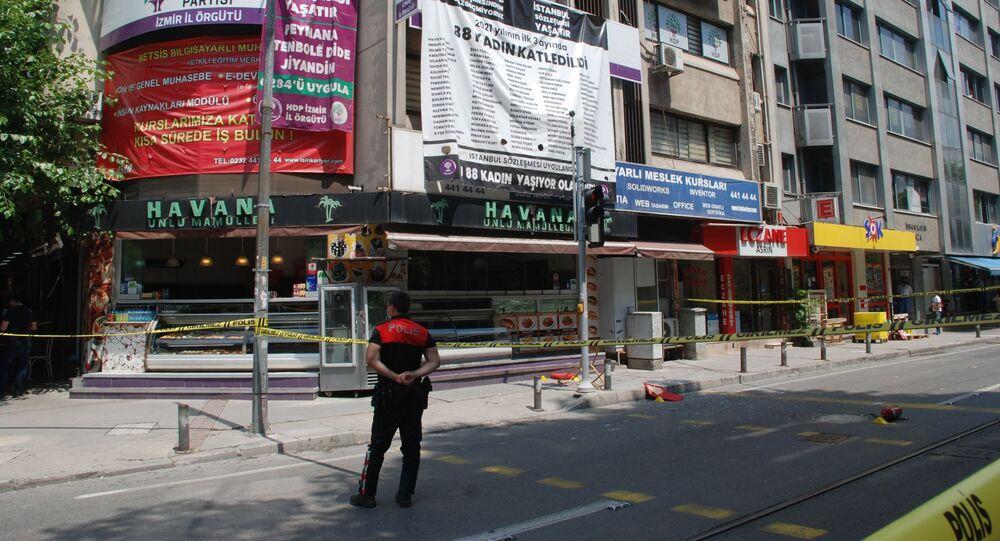 HDP İzmir il binasına saldırı: 1 kişi hayatını kaybetti - Sputnik Türkiye
