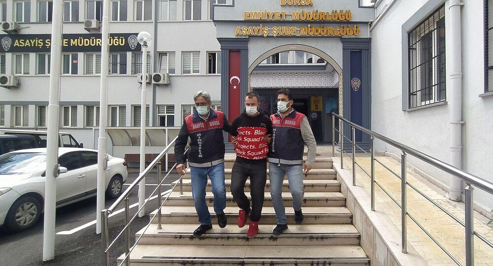 Bursa'da bankadan 200 lira çalan kişi