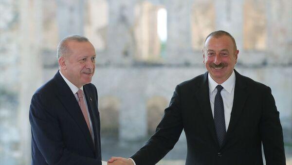 Erdoğan ve Aliyev - Sputnik Türkiye