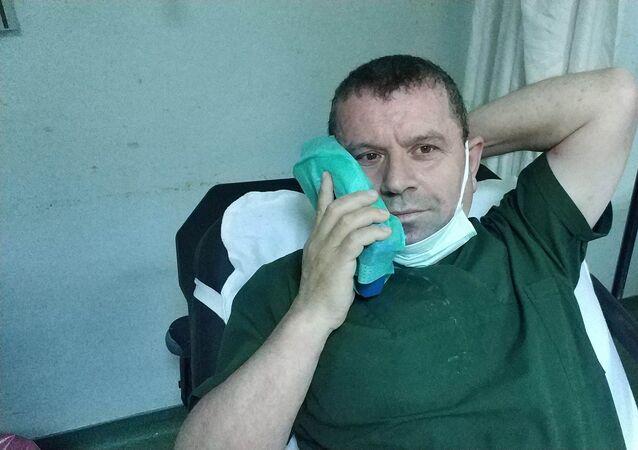 Samsun'da sağlık personeline yumruklu saldırı