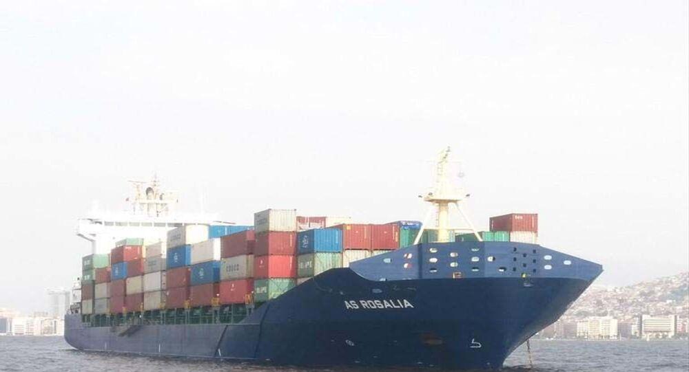 İstanbul'da gemi kazası