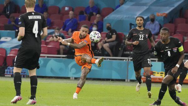 EURO 2020 C Grubu maçında Hollanda, Avusturya'yı 2 golle geçerek son 16'ya yükseldi - Sputnik Türkiye