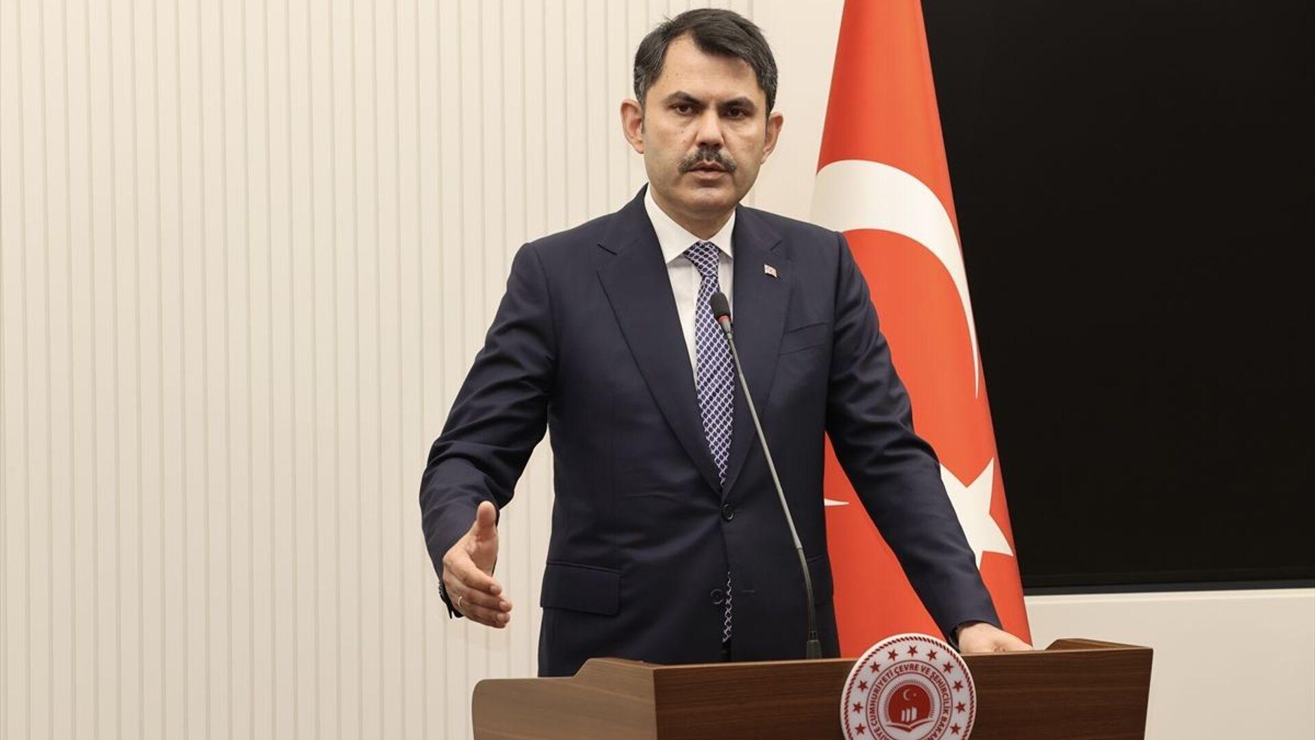 Murat Kurum - Sputnik Türkiye, 1920, 29.06.2021
