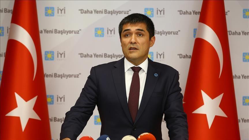 İYİ Parti İstanbul İl Başkanı Buğra Kavuncu