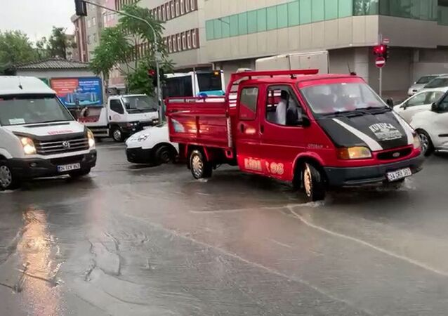 İstanbul - yağmur-
