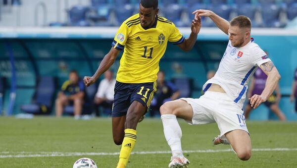 EURO 2020 E Grubu maçında İsveç, Slovakya'yı tek golle yendi - Sputnik Türkiye