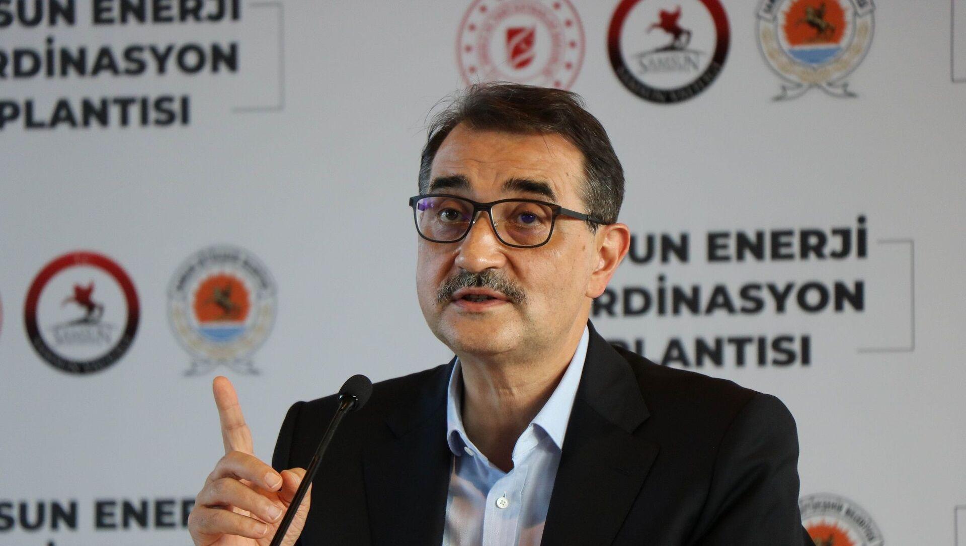 Enerji ve Tabii Kaynaklar Bakanı Fatih Dönmez - Sputnik Türkiye, 1920, 28.06.2021