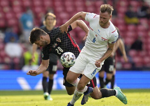 EURO 2020 D Grubu'nda Hırvatistan-Çekya maçı 1-1 beraberlikle sona erdi