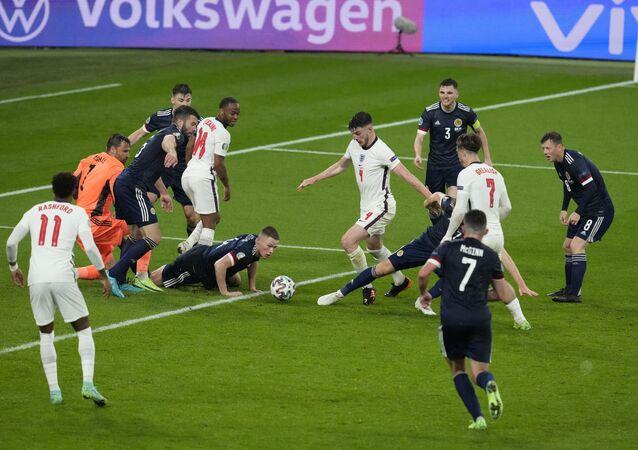 EURO 2020 D Grubu'nda İngiltere-İskoçya maçı golsüz eşitlikle sonuçlandı