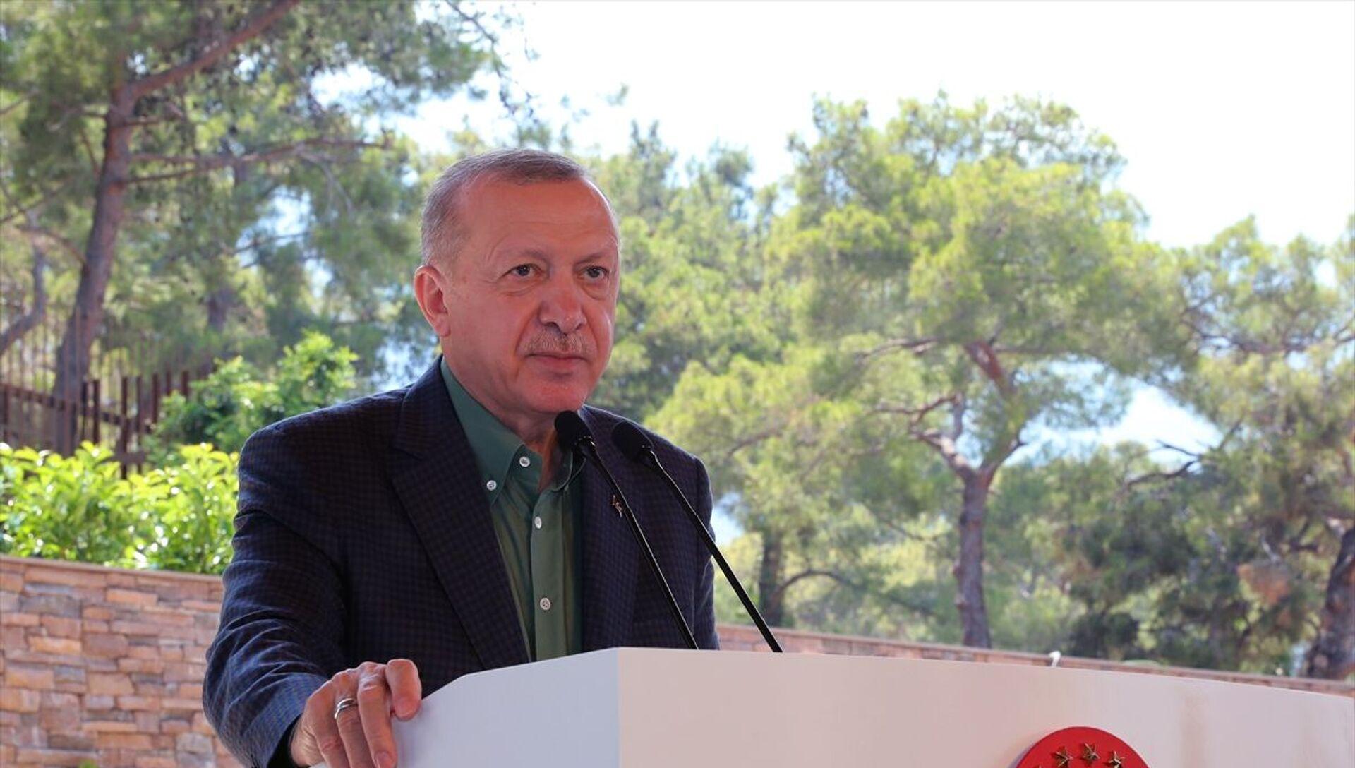 Recep Tayyip Erdoğan - Sputnik Türkiye, 1920, 22.06.2021