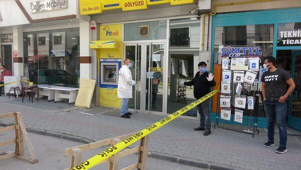 Bolu - PTT şubesi - hırsızlık - Sputnik Türkiye