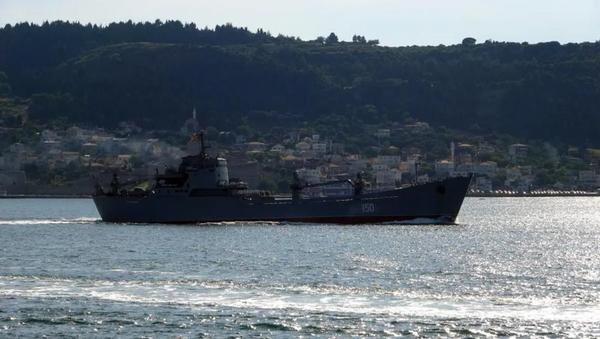 Rus savaş gemisi, Çanakkale Boğazı'ndan geçti - Sputnik Türkiye