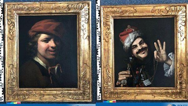 Almanya - Bavyera - çöpten çıkan tablolar - Sputnik Türkiye