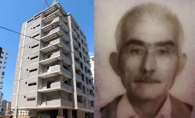 Adana'da, inşaatta çalışan 65 yaşındakiMehmet Kapukaya(65), yapımı süren apartmanın 8'inci katından zemine düşerek, hayatını kaybetti.