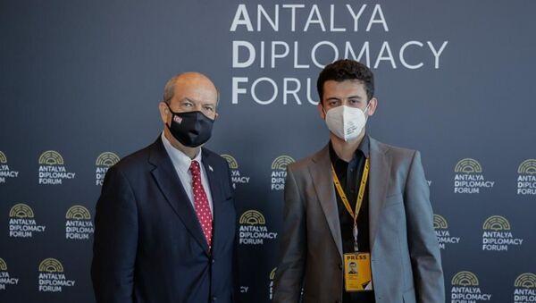 Ersin Tatar ve Turan Salcı - Sputnik Türkiye