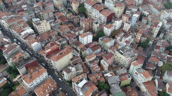 Beyoğlu - deprem - bina - Sputnik Türkiye