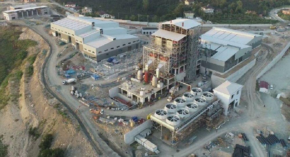 Trabzon çöp entegre tesisi