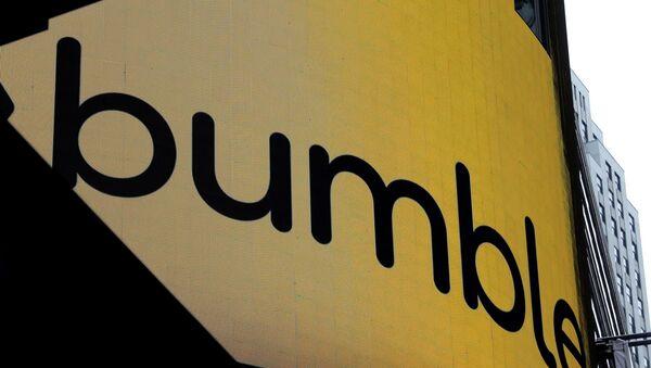 New York'taki Nasdaq borsasında Bumble uygulamasının operatör şirketinin halka arz duyurusu - Sputnik Türkiye