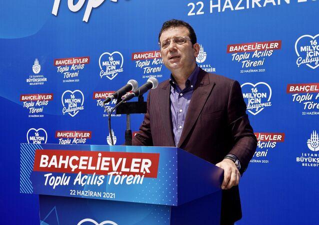 İBB Başkanı Ekrem İmamoğlu, Bahçelievler'deki toplu açılış töreninde konuştu.