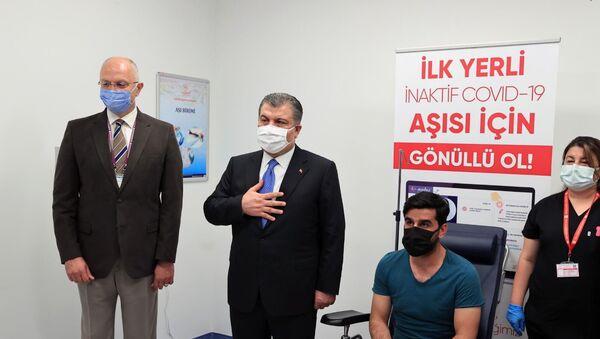 TURKOVAC - Fahrettin Koca - Sputnik Türkiye