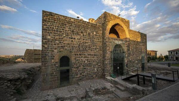 1600 yıllık Saint George Kilisesi, sanat galerisi olacak - Sputnik Türkiye